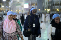As Shahidah Sharif, an African-American Muslim, joined millions of fellow pilgrims from around the world on the hajj this year, she felt a renewed connection. To her own