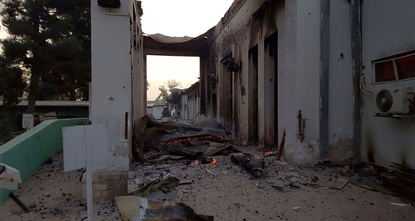 A suspected US air strike on a hospital in the Afghan city of Kunduz Saturday killed 19 people, including 12 staff and seven patients, medical charity MSF said, claiming the facility was repeatedly...