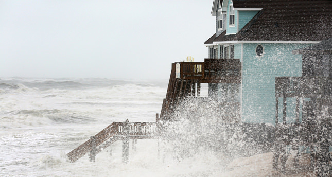 Hurricane Juaquin hits Carolinas with 1000-year rain