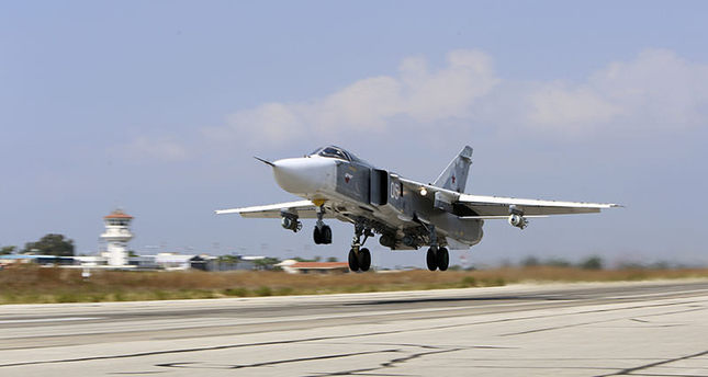 Russian jet violated air space due to 'weather conditions'