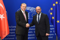 Leaders Leaders from the European Union met with President Recep Tayyip Erdoğan and discussed a possible plan to help Ankara cope better with the continuous flow of refugees from Syria and Iraq and...