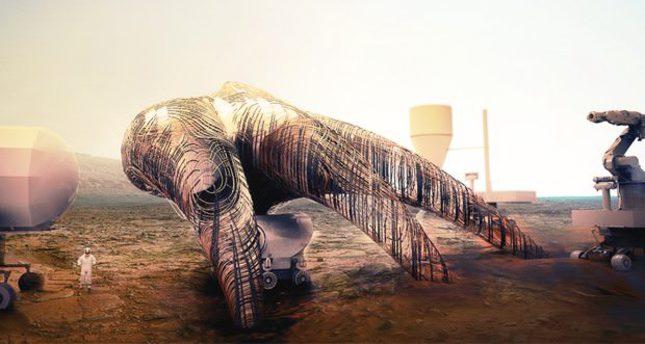 Turkish architect 4th in 'Mars Habitat Competition'