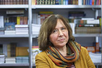 Belarusian writer Svetlana Alexievich won the Nobel Prize in literature on Thursday for works that the prize judges called