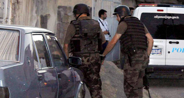 Turkish police detain 16 PKK suspects in the east