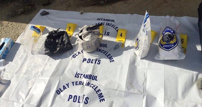 Turkish police find 4.5 kg PKK-made bomb in pot