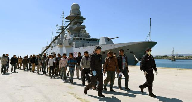 EU approves naval action on migrant boats