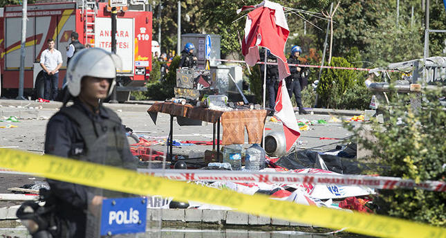Suspicious package detonated at Ankara bombing site