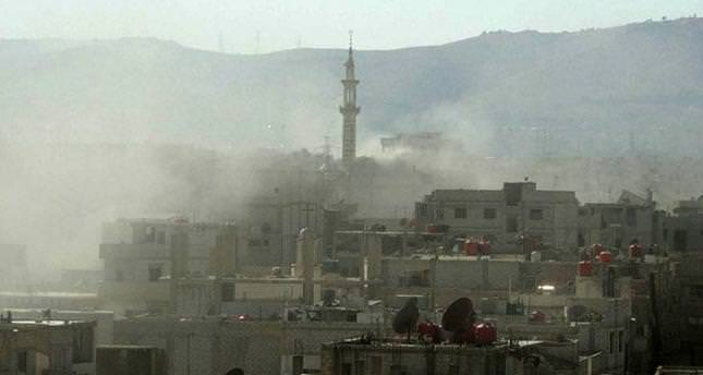 Russian embassy in Damascus struck by 2 mortar shells