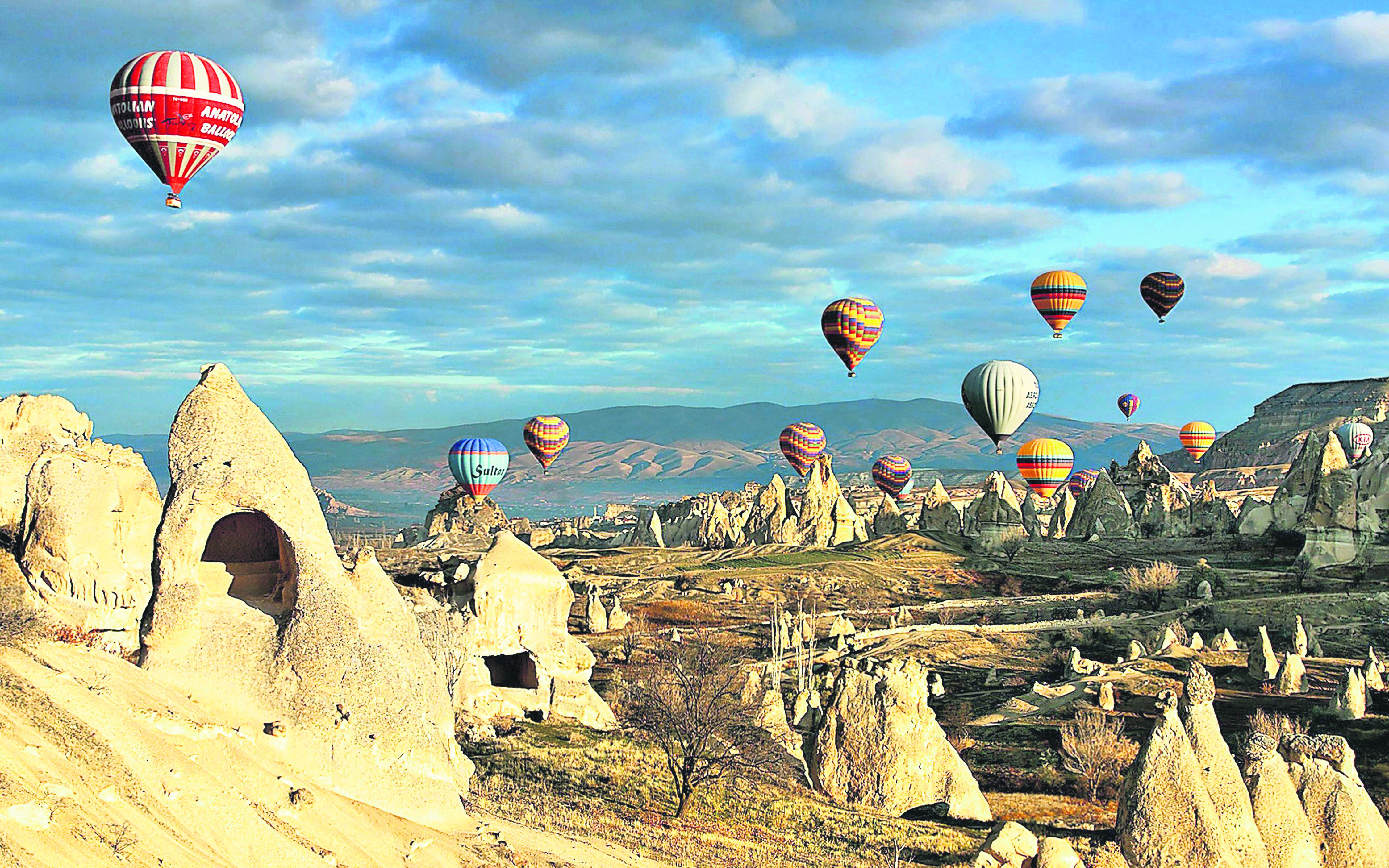 Where to visit in turkey in november daily sabah for Best warm places to visit in november