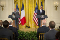 President Barack Obama said on Tuesday the United States and France will stand united to fight Daesh militants following the Nov. 13 attacks in Paris, pledging to step up efforts to combat...