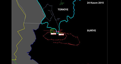 The Russian warplane shot down by Turkey near the Syrian border on Tuesday violated Turkish air space despite being warned 10 times in the space of five minutes, the Turkish military said in a...