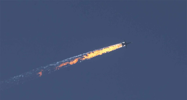 Turkey downs Russian fighter jet near border