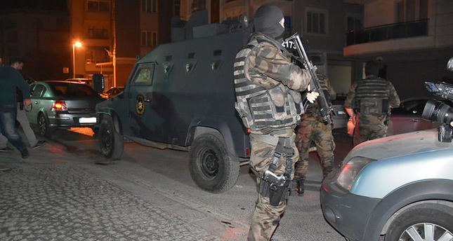 Police detain 12 PKK suspects in Istanbul