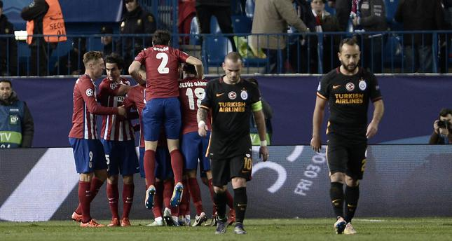 Galatasaray eliminated from Champions League