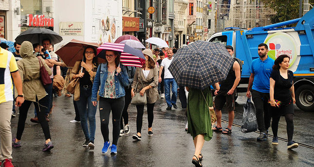 A rainy but warm week ahead of cold spell