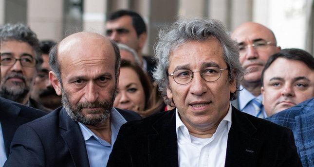 Cumhuriyet daily's Can Dündar and Erdem Gül arrested