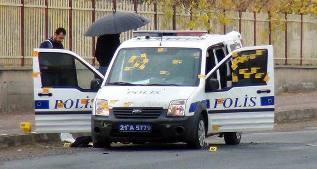 Three police officers injured, one PKK terrorist killed