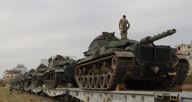 Turkey deploys military reinforcements to border