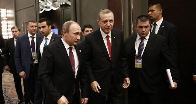 Erdoğan, Putin not to cross paths at UN Summit