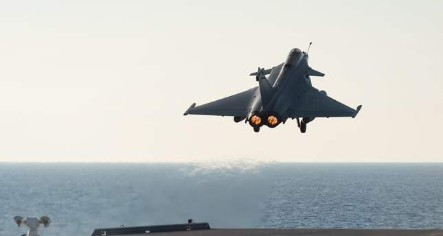 Turkey allows French jets to use Turkish airspace
