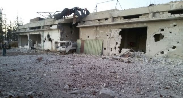 Russian airstrikes hit IHH's bread bakery in Syria