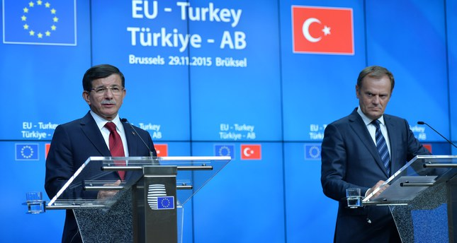 EU,Turkey agree on €3bn aid deal for Syrian refugees