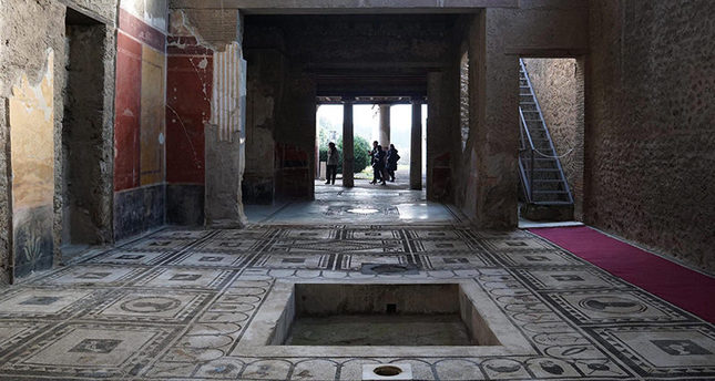6 restored ancient houses now open in roman city of