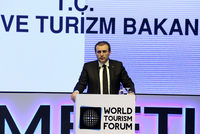 During the opening ceremony of the World Tourism Forum (WTF), the three-day event that started on Feb. 4 at Lütfi Kırdar Congress Center in Istanbul, WTF President Bulut Bağcı gave the inauguration...