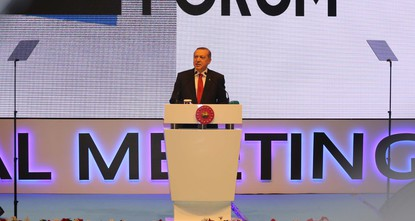 President Recep Tayyip Erdoğan criticized Saturday western countries for supplying the armed wing of the PKKs Syrian affiliate with weapons.br /