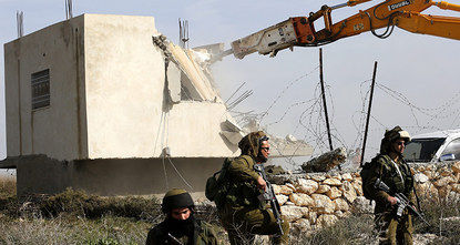 The European Union on Saturday called on Israel to halt the demolition of Palestinian housing, some of which was EU-funded, and reiterated its opposition to expanding Israeli settlements in the...