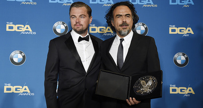 Hollywoods directors named Alejandro Inarritu the best film director of 2015 for The Revenant at a gala ceremony on Saturday, helping focus the race for the Oscars.br /