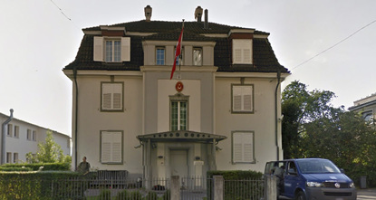 Zurich police used tear gas and rubber bullets to try to break up a group of around 100 supporters of the PKK terrorist organization holding an unauthorised demonstration outside the Turkish...