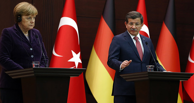 'Turkey, Germany to work jointly to end Aleppo raids'