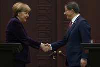 German Chancellor Angela Merkel arrived in Ankara Monday to hold official meetings regarding the ongoing Syrian crisis where she met President Recep Tayyip Erdoğan and Prime Minister Ahmet...