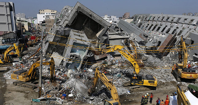 41 dead, 109 still missing 3 days after Taiwan quake