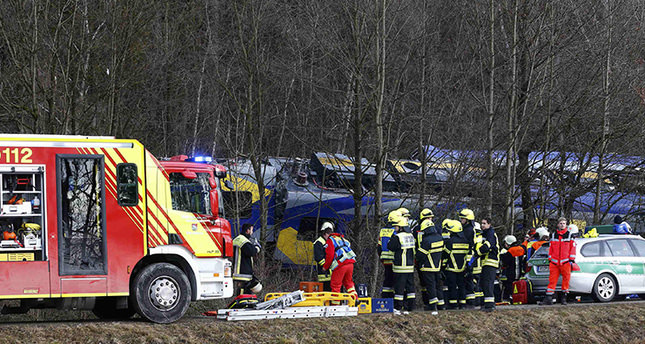 9 dead, 150 injured by train collision in Germany