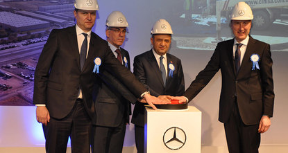 Mercedes-Benz Türk will invest 113 million euros in its truck plant in the central province of Aksaray between 2016 and 2018, doubling its capacity. The capacity increase will bring the number of...