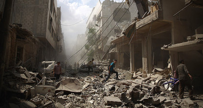 In five years of civil war, 400,000 Syrians have been killed and another 70,000 have perished due to a lack of basics such as clean water and healthcare, reports have said on Thursday.br /
