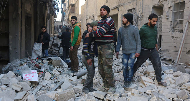 Russia says US planes bombed Aleppo on Wednesday