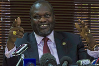 A presidential spokesman in South Sudan says the president has appointed his rival, rebel leader Riek Machar, as first vice president in a unity government.  Ateny Wek Ateny said Friday that...
