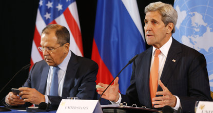 US Secretary of State John Kerry said early Friday in a diplomats meeting in Munich that the United States and Russia have agreed to implement cessation of hostilities in Syria, and aim to start in...