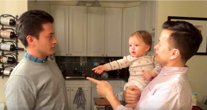 iframe width=560 height=315 src=https://www.youtube.com/embed/y2004Xaz2HU frameborder=0 allowfullscreen=/iframebr / A Youtube video showing a father and his twin brother pranking his baby gone...
