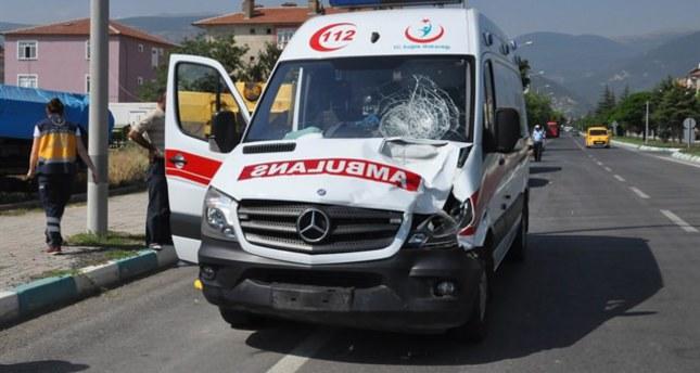 PKK terrorists open fire on ambulance at gas station