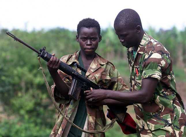 Thesis statement on child soldiers in africa