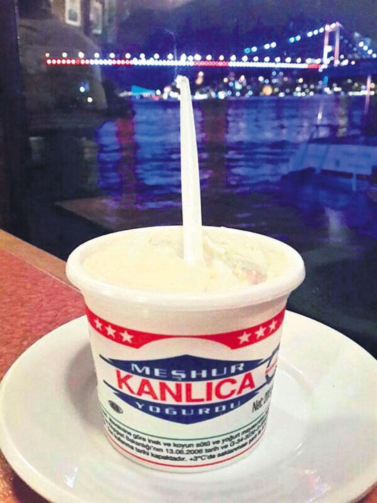 Kanlıca yogurt