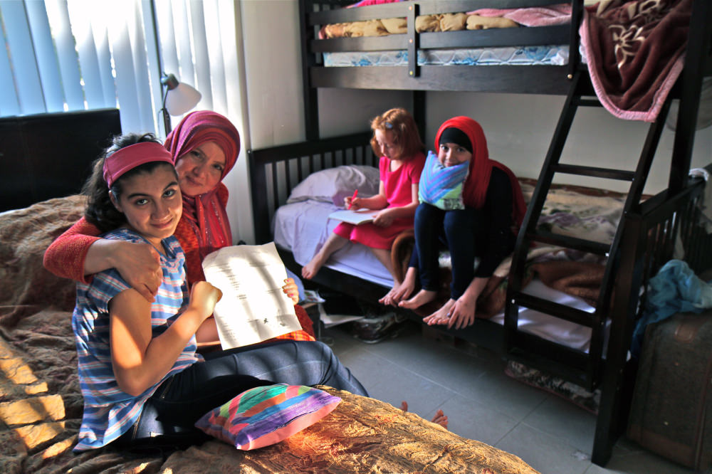 A day with a Syrian mother in the US: There is no place like home