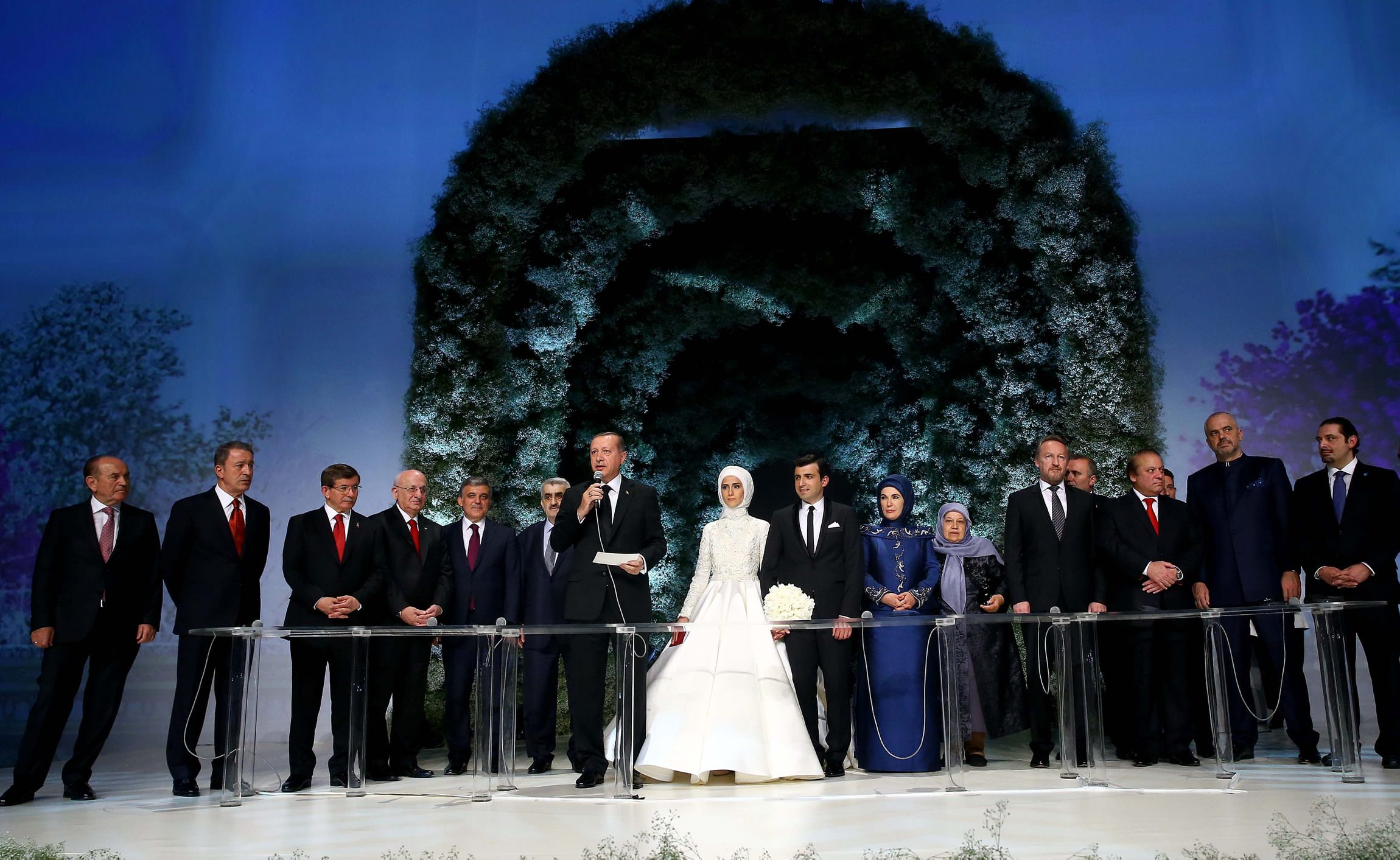 Erdoğan's daughter Sümeyye ties the knot with Selçuk Bayraktar in Istanbul
