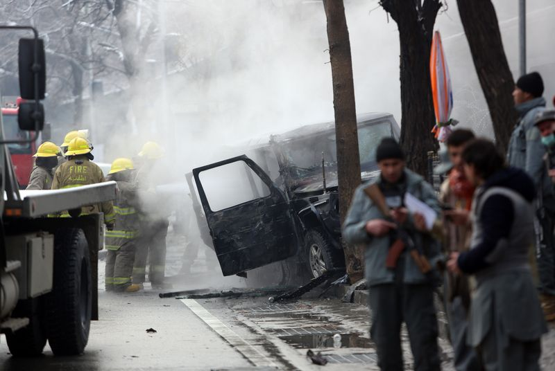 Suicide attack on Turkish Embassy vehicle kills two