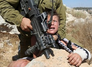 The world witnesses Israeli soldier's cruelty against Palestinian boy