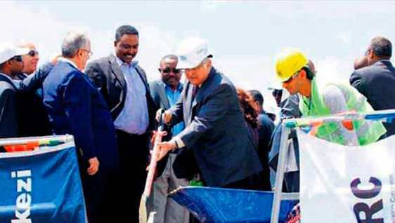 Etiyopya'ya 1.7 milyar dolarl�k demiryolu